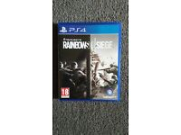 Rainbow Six Siege Ps4 game for sale 15quid