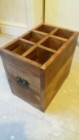 indian rosewood wine rack/case/box