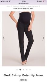 Designer maternity jeans by Seraphine