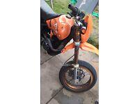 Pulse adrenaline 125cc spares or repairs engine still runs