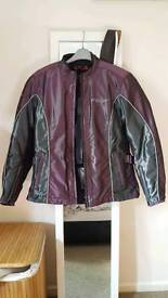 Ladies Medium 12/14 Biker Jacket