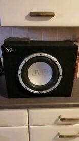 JVL subwoofer - 2/1 channel XPLOD amp