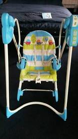 Fisher price swing and rocker ***EXCELLENT COND***