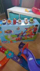 Vtech Toot Toot Drivers Mega Set with extra vehicles