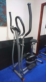 V-fit 2 in 1 Combo Cycle/ X Trainer - MCCT1
