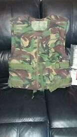 Kevlar body armour vest