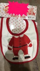 Brand new Christmas baby bibs
