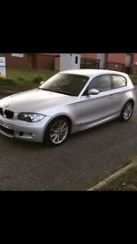 BMW 120D M SPORT, Full service history, brand new service, Brand new disks and pads all round