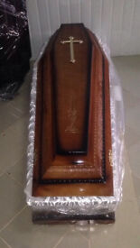 COFFIN SOLID WOOD