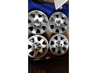 Genuine Audi Alloys 15 inch - 5 stud - 7Jx15 ET39 ***Excellent Condition***