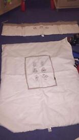 Mamas and papas cot bedding