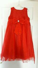 Red year 6 prom dress