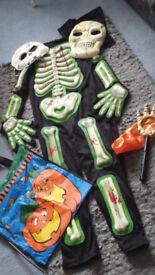 Boys Halloween costume - age 7- 8