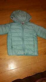 Lovely girls M&S coat age 2-3 years