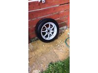 "Japan type racing wheels Honda/ford etc 15"" 4x100"