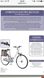 Electric hybrid bike - kettler layana
