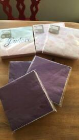 Unopened paper napkins WEDDING