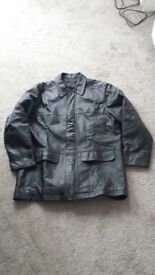 Marks & Spencer Mens Leather Coat