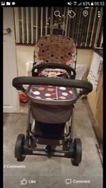 Cosatto fable travel system