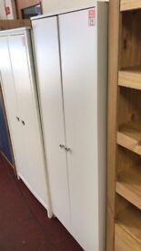 Seville 2 door wardrobe - White damaged
