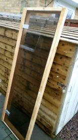 New Misted Glass Sauna Door with Frame