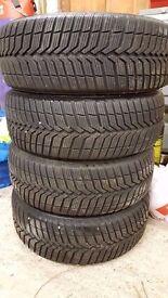 4 x Vrederstein Snowtrac 3 185/55 x 15 , Honda Jazz Alloy wheels
