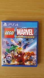 PS4 Lego Marvel Super Heroes in Excellent Condition.