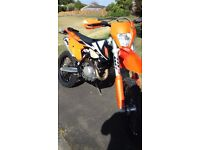 KTM 450 EXC-F 17-model Road legal, mint condition, awesome machine.