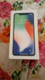 Apple iPhone x 64gb unlocked immaculate condition