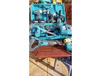 Makita 18volt job lot combo set jigsaw grinder drills recip saw