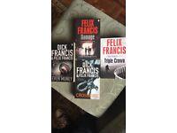 Dick Francis / Felix Francis books