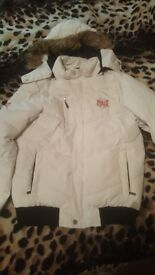 Womens winter jacket, size 12. Like new