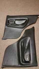 Ford Escort Mk 2 Rear Door Cards / Trims