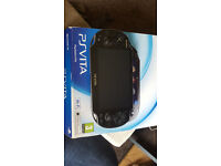 playstation vita (boxed wifi version)-sell or swap for 3ds/2ds