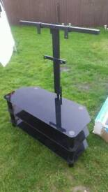 TV Glass UNIT + STAND - UP TO 50'' TV
