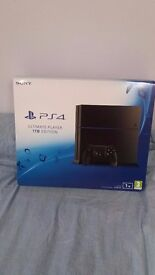 PS4 boxed never used all wires and 1 controller included