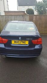 BMW In great condition , fitted with handsfree kit and USB audio options. 2 owners, BLUE,