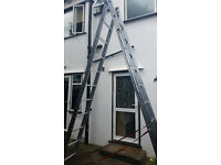 Trade Master 2 Section Combination Ladders 12 rung