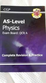 OCR AS Level Physics Revision book