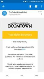 Boomtown 2018 Standard Weekend & Camping Ticket Adult