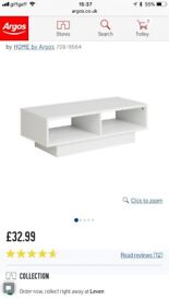 White cube tv unit