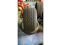 Winter Tyres - Dunlop SP Winter Sport 3D 255/35 R18 £95 for Two