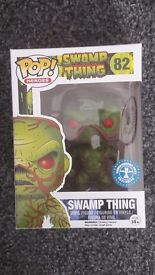 Pop! Heroes SWAMP THING Underground Toys Exclusive No.82