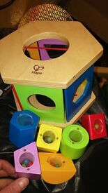 Wooden Shape Sorter Toy. Baby toy