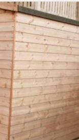 7x7ft Tng solid shed