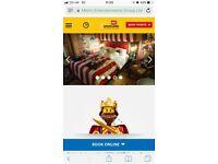 Legoland Windsor hotel & Park tickets. Royal wedding
