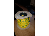 Conduit Wiring EARTH Cable 6491X 1-Core 10mm² x 35m Green/Yellow Earth Cable