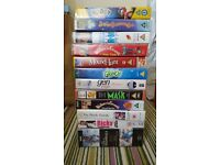 Assortment of VHS films and programmes