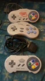 Super Nintendo controllers £5 each
