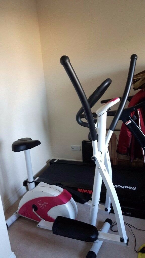 Davina Mccall 2 IN 1 Exercise Bike And Cross Trainer